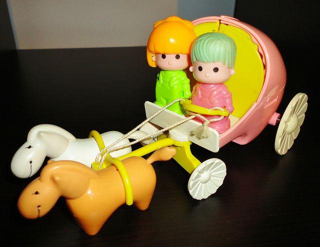 Vintage Pin y Pon carriage / Pin y Pon carroza sorpresa | Flickr - Photo Sharing!