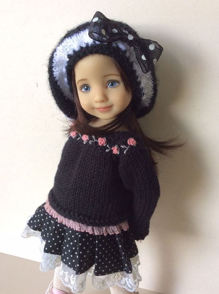 """Outfit for Little Darling Effner Doll 13"""" 4pc. #DiannaEffner"""