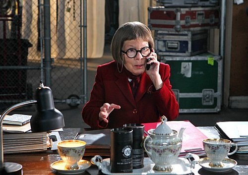 Linda Hunt as Hettie Lange in  NCIS Los Angeles; love both the actress and the character.