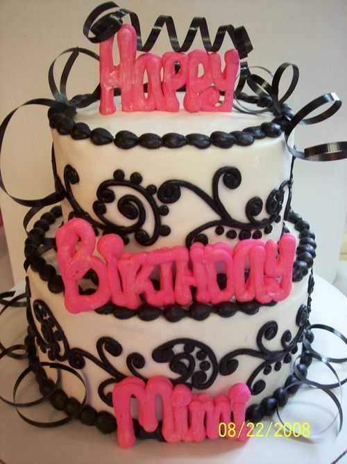 adult birthday cakes ideas