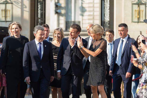 Le couple Macron ? Les superstars de l'Elysée !