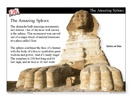 Use this slideshow to introduce students to ancient Egypt.