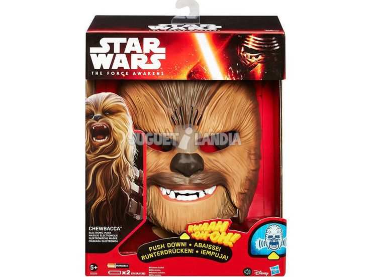 Star Wars Chewbacca Máscara Electrónica