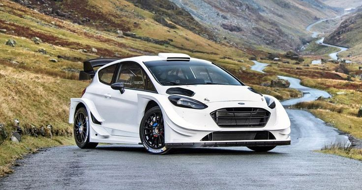 M-Sport Unveils Extreme 2017 Ford Fiesta WRC #Ford #Ford_Fiesta