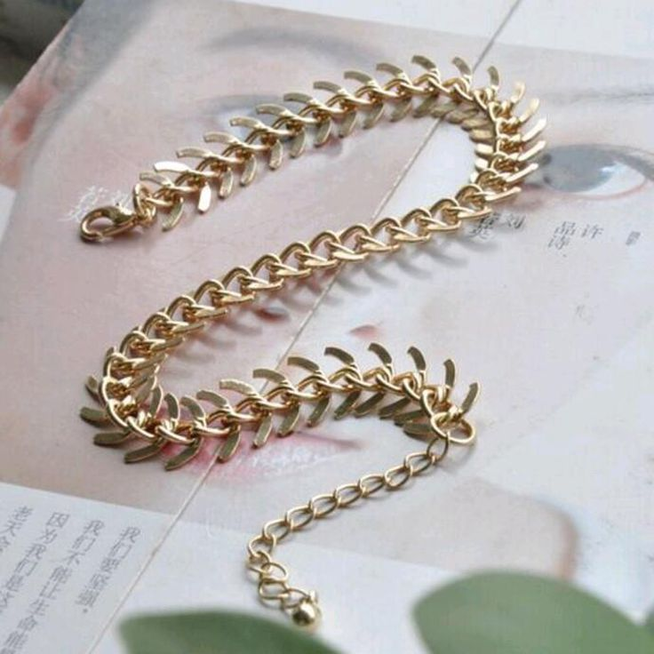 Tomtosh New Fashion Foot Jewelry Chain Link Layered Draped Anklets Women Gold Parties Anklet Bracelets for Girl gift wholesale