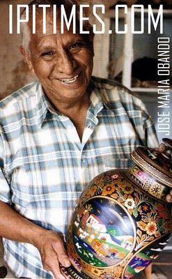 """JOSE MARIA OBANDO   ARTESANIA DE PASTO, NARIÑO, COLOMBIA. EL BARNIZ DE PASTO - Arte Inspirador de Colombia. De el album llamado ALMACEN DE ARTESANIAS: """" MOPA MOPA"""". ( IPITIME.COM )"""