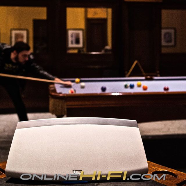 Making your shot has never been easier. #HEOS #Pool  Bring a HEOS into your home: http://onlinehifi.com/product-category/heos-by-denon-wireless-multi-room-speaker-system/