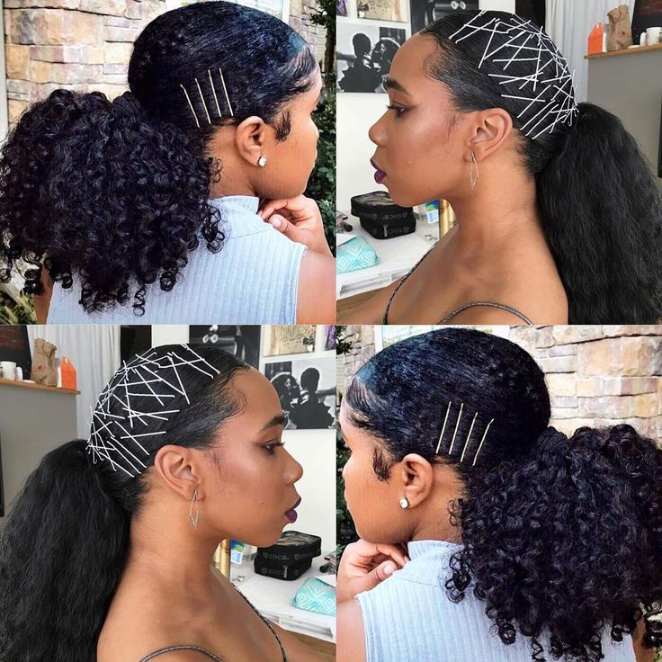Usually bobby pins are hidden, but now it is trending to expose them! The exposed bobby pin hairstyle has been used to create a number of creative looks.