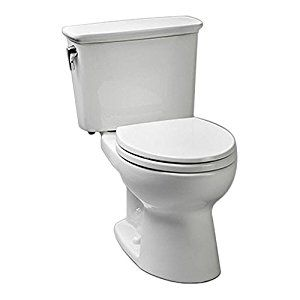 TOTO CST743ERN#01 Eco Drake Transitional Toilet Right-Hand Trip Lever, Cotton - Two Piece Toilets - Amazon.com