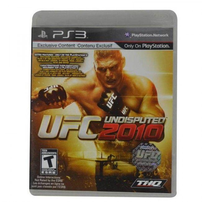 Juego PS3 UFC Undisputed 2010 Original - Juegos de Consola - TV, Consolas y Juegos - Tecnología - Sensacional