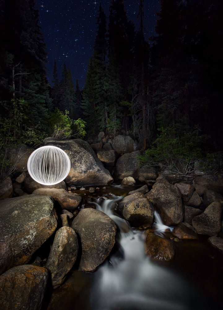 """""""Ball of Light"""" Light Painting Tutorial (by Richard Steinberger / iso.500px.com)"""