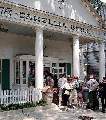 Camellia Grill. Great old-school diner located in a beautiful old house at the end of St. Charles St. This is a sit at the counter and watch the guys cook up your meal sort of place - they have awesome personalities and it is overall just a great time!