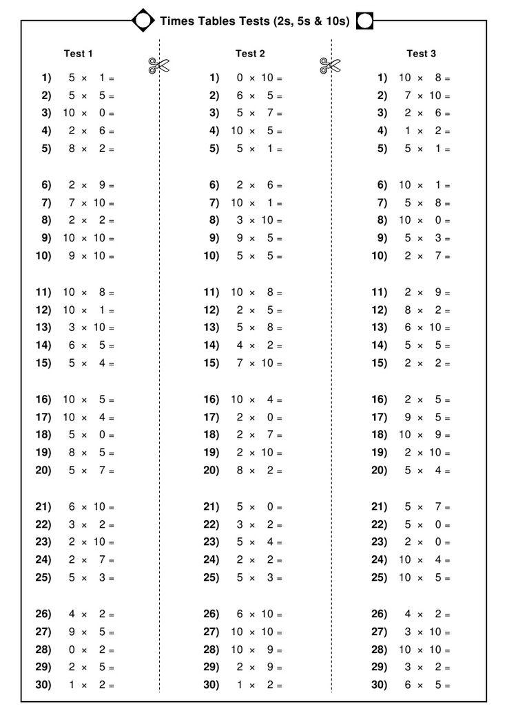 Fein Multiplikation Färbung Einer Tabelle 5. Klasse Galerie ...