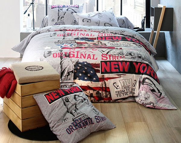 Linge De Lit Pele Mele New York With Images Home Furniture Bedroom Decor Bed