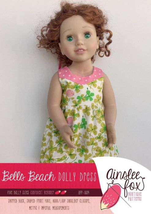 Dolly Bells Beach Dress Front Cover v2