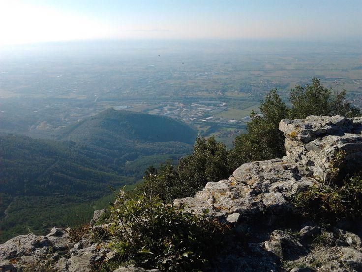 Dalla rocca della Verruca