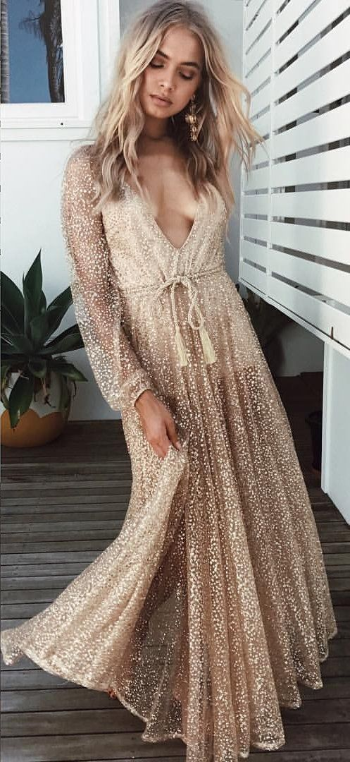 #summer #outfits  Liquid Gold Dress ✨