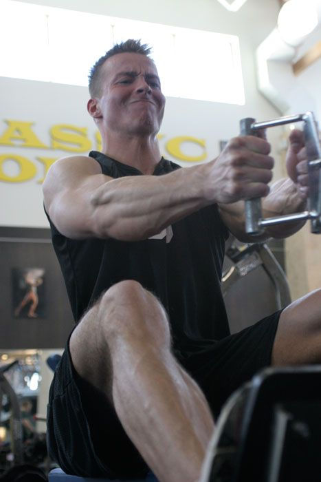 Seated Cable Rows Are An Excellent Exercise To Work The Middle Back