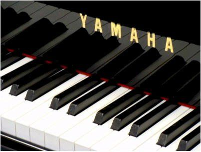 Yamaha Grand Piano -- my favorite piano.  I own a beautiful studio Yamaha piano  -- dream about owning a baby grand Yamaha!
