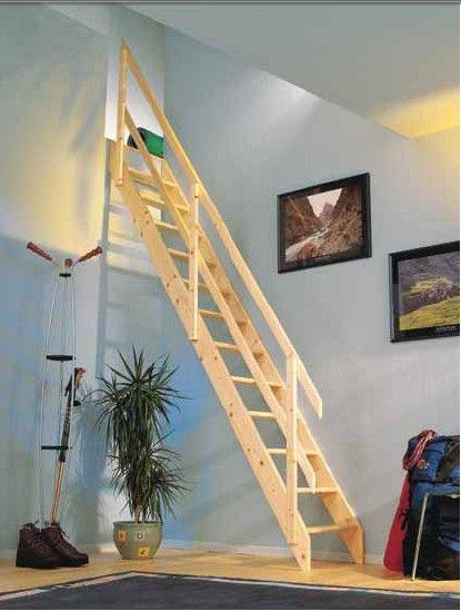 17 mejores ideas sobre escaleras para casas peque as en - Escaleras de casas ...