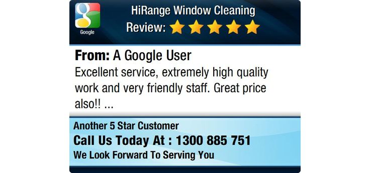Excellent service, extremely high quality work and very friendly staff. Great price also!!