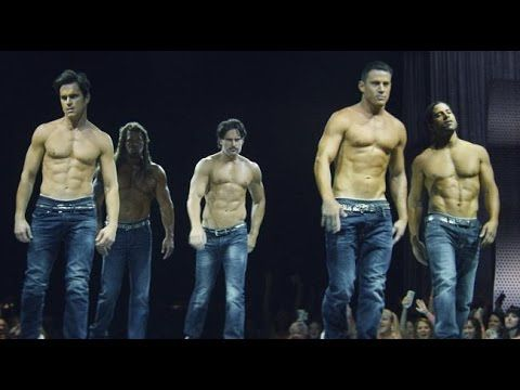 Magic Mike XXL Uncensored w/Channing Tatum, Matt Bomer, Donald Glover, Joe Manganiello & cast - YouTube   X-rated interview