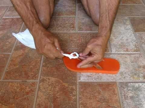 Arreglar chanclas Havaianas rotas: 6 trucos - Trucos y Astucias