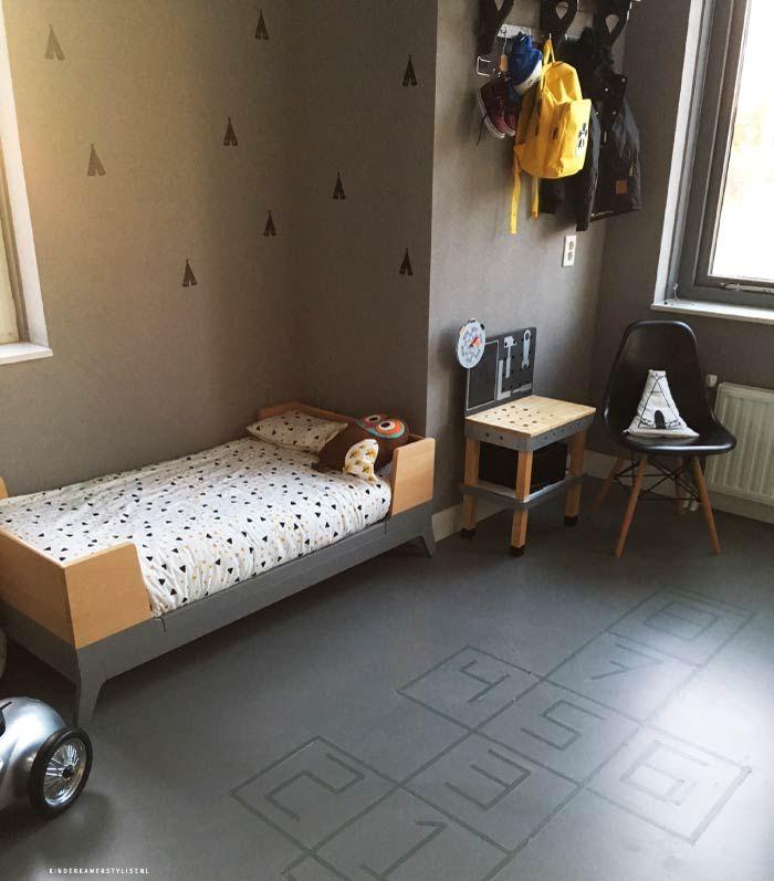 Stoere Jongenskamer ideeën #hinkelbaan | Kinderkamerstylist