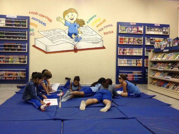 Resultado de imagem para sala de leitura educação infantil