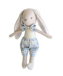 Alimrose Baby Louie Bunny Toy 26cm  $34.95  www.sweetcreations.com.au #sweetcreations #child #kids #parents #baby #toys #feedingtime #playtime #parenting #pregnancy