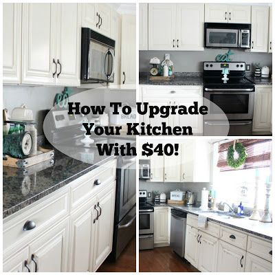 The Glam Farmhouse How To Upgrade Your Kitchen With 40