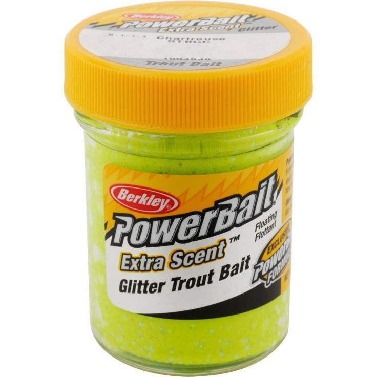 Berkley PowerBait Glitter Trout Bait, Green