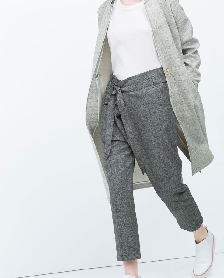 Image 1 of LOW WAIST TROUSERS from Zara