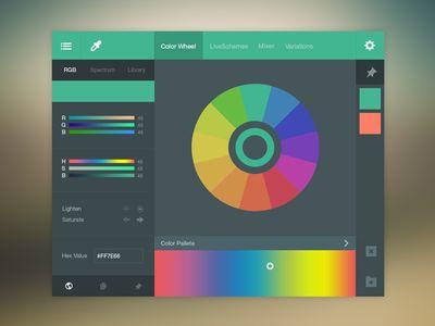 Color Picker UI (FREE PSD)