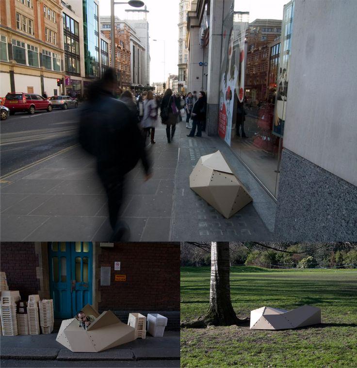 hwang kim: urban homeless cocoon