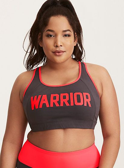 Torrid Active - Warrior Sports BraTorrid Active - Warrior Sports Bra, GREY