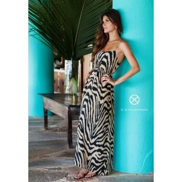 Cape Karine Long Dress by Vix
