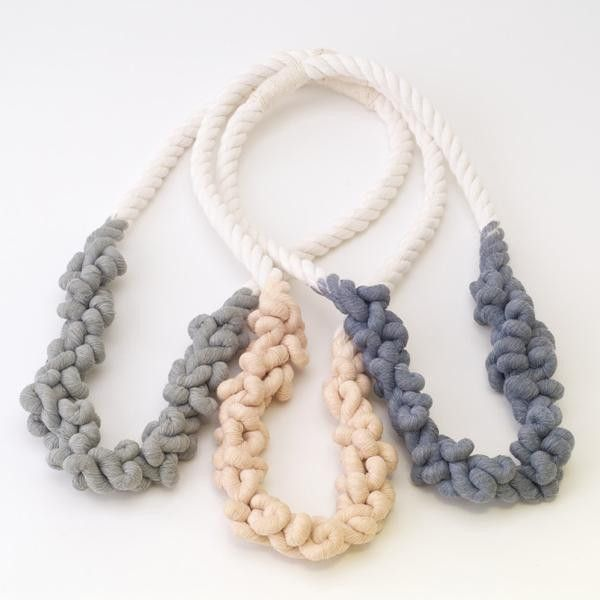 Unraveled Rope Necklace - 40% off!