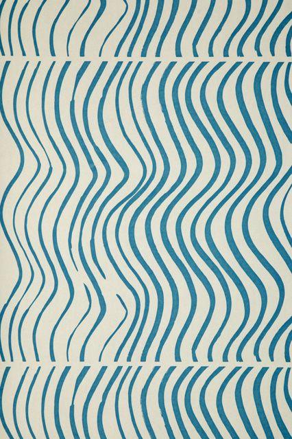 Marimekko Silkkikuikka - Wallpaper Ideas & Designs - Living Room & Bedroom (houseandgarden.co.uk)