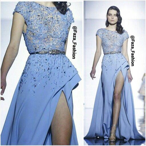 Zuhair Murad Spring 2015 Couture Collection - Paris Fashion Week #pfw - Paris Couture Week مجموعة الكوتور لربيع ٢٠١٥ من زهير مراد - أسبوع الموضة في باريس