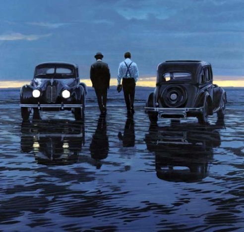 Iain Faulkner Rendezvous Signed Limited Edition Print | Scottish Contemporary Art