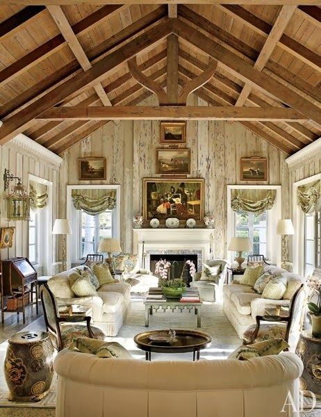 Ralph Lauren Archives   The Enchanted Home (Room, Beams U0026 Fireplace). Boca  GrandeDecorating IdeasDecor ...