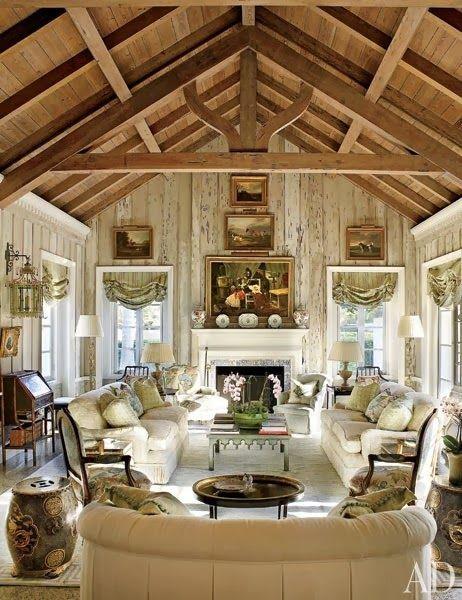 Ralph Lauren Archives   The Enchanted Home (Room, Beams U0026 Fireplace) · Boca  GrandeDecorating IdeasDecor ...