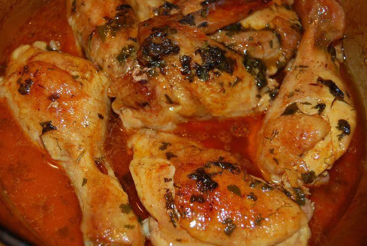 Mediterrán csirkecombok a sütőből! Omlós és szaftos, csábító finomság, egyszerűbb receptről álmodni sem lehet!