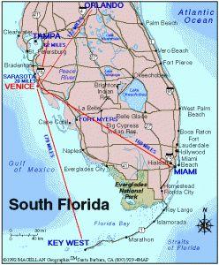 Southern Florida Map.South Florida Map Public Speakers Bureau Florida Florida South
