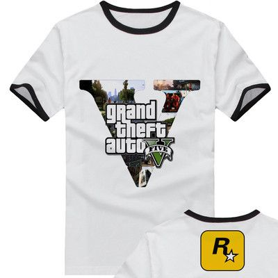new 2015 free shipping adolescent Grand Theft Auto GTA 5 sitcoms man men male sports short-sleeve T-shirt♦️ SMS - F A S H I O N 💢👉🏿 http://www.sms.hr/products/new-2015-free-shipping-adolescent-grand-theft-auto-gta-5-sitcoms-man-men-male-sports-short-sleeve-t-shirt/ US $11.39