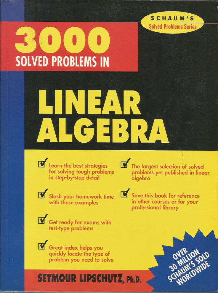Books: What is the best book for learning Linear Algebra ...