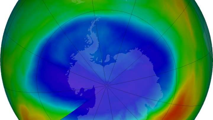 The Hole In The Ozone Layer Is The Smallest It's Been In Almost 30 Years 11/3/17 The hole in the ozone layer– once a powerful symbol of humans' meddling with the environment – is the smallest it's been inalmost 30 years. Is this good