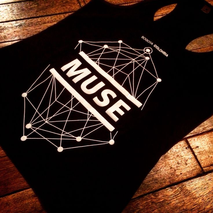 T Shirt Muse para hombre y mujer.