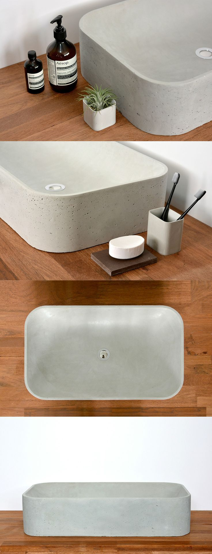 concrete sink